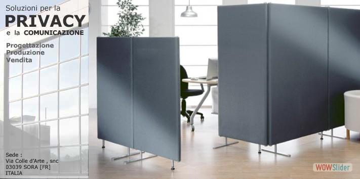 Categorie prodotti pannelli divisori pareti mobili for Divisori da ufficio